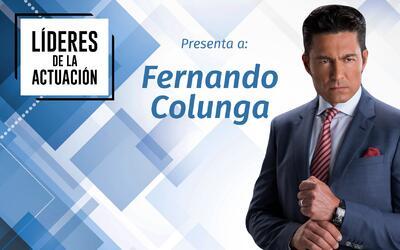 Fernando Colunga recordó el gran reto que tuvo en su carrera al interpre...