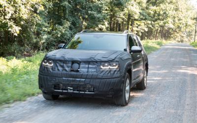 El prototipo de desarrollo de la B-SUV de Volkswagen se lució en...