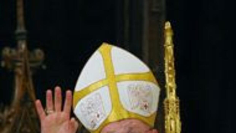 Timothy Dolan ofició como el nuevo arzobispo de Nueva York desde la cate...