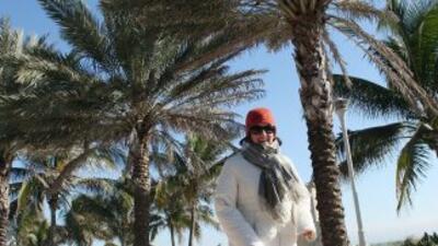 Llega primer frente frío a Miami.