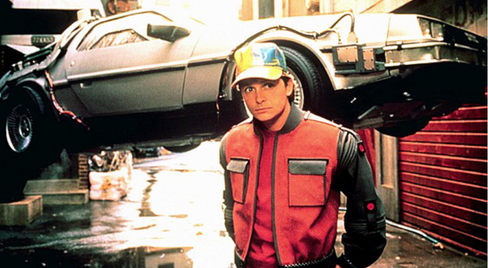 "El protagonista mecánico de la serie ""Back to the Future"""
