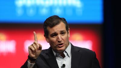 Ted Cruz, precandidato republicano a la presidencia de Estados Unidos