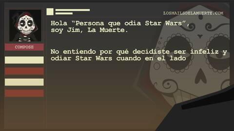 A los que odian Star Wars