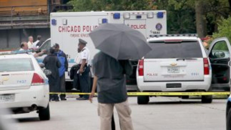 Christopher Travis de 14 años de edad murió tras recibir un tiro en la c...