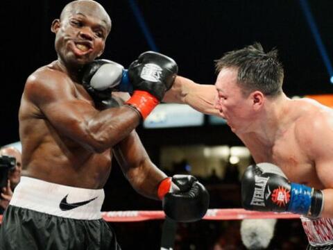 Timothy Bradley y Ruslan Provodnikov se enfrentaron el 16 de marzo en el...