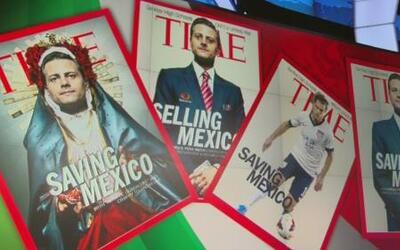 Burlas en México por la portada de la revista TIME