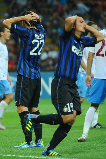 Los del Inter no lo podían creer, perdían de local ante un...