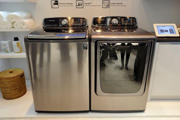 Samsung lanzó un modelo más de su línea de lavadoras y secadoras intelig...