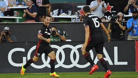 DC United celebra goleada ante Chicago Fire