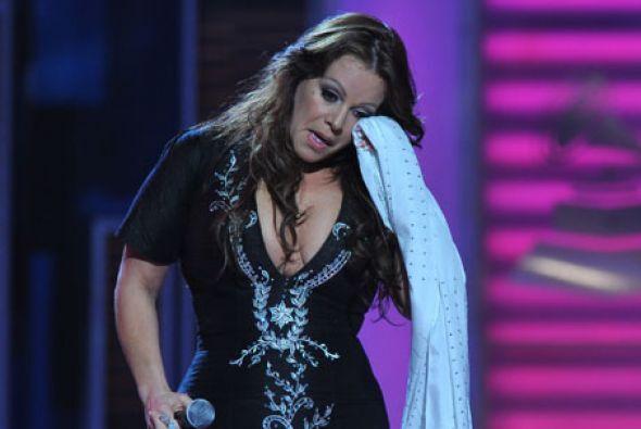 Otra estrella que derramó muchas lágrimas fue la fallecida Jenni Rivera.