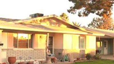 Casa de victima de fraude hipotecario