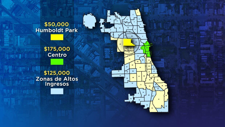 Mapa de las zonas del ARO 2015
