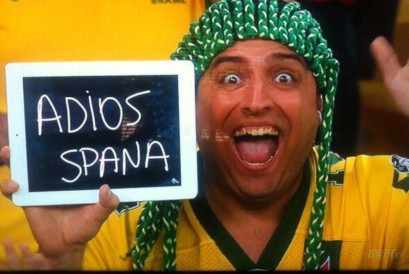 Y así se burló este señorito en el partido. Todo sobre el Mundial de Bra...
