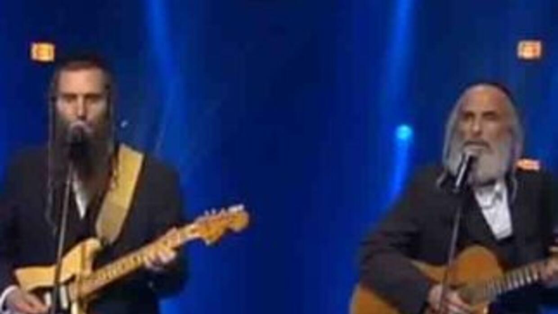 Los dos cantantes ultraortodoxos