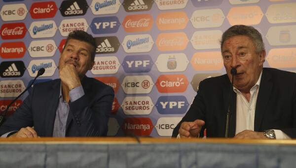 Marcelo Tinelli y Luis Segura aspiran a dirigir la AFA