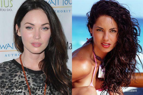 Bellezas entre bellezas, Megan Fox y Bárbara Mori si rompieron el molde...