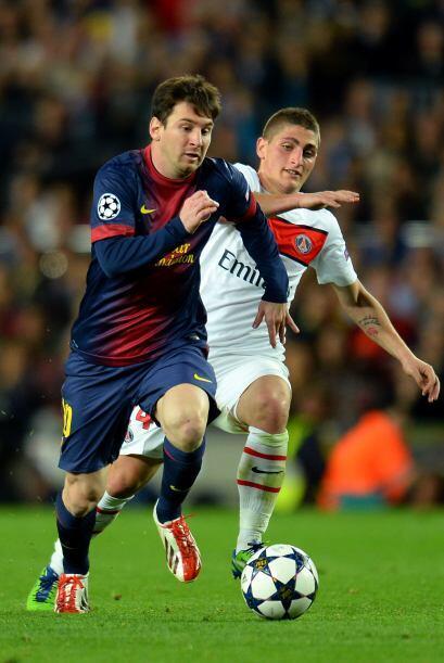 Messi demostraba que es un jugador desequilibrante a un nivel que pocos...