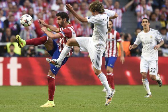 Del lado del Madrid también había preocupación por los embates colchoneros.