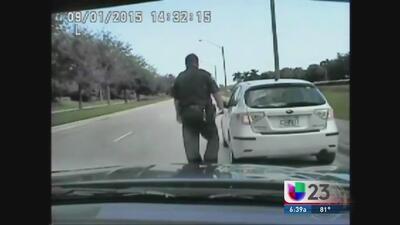 Viral insulto de mujer a policía de Palm Beach