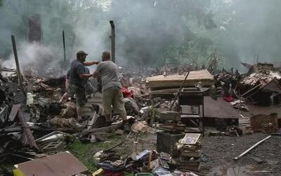 Sigue la devastación en West Virginia