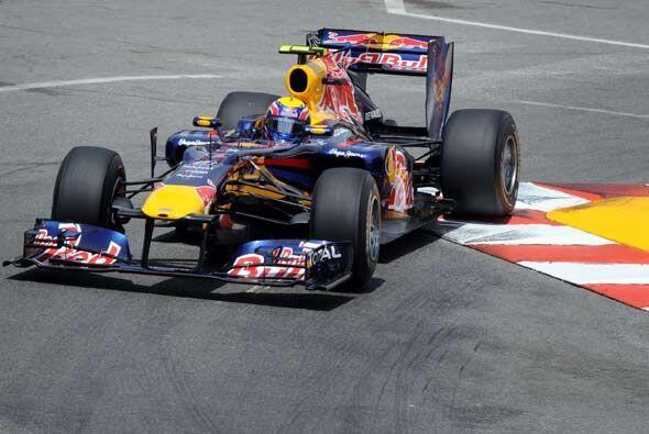 Webber aprovechó todas las circunstancias de la carrera para logr...