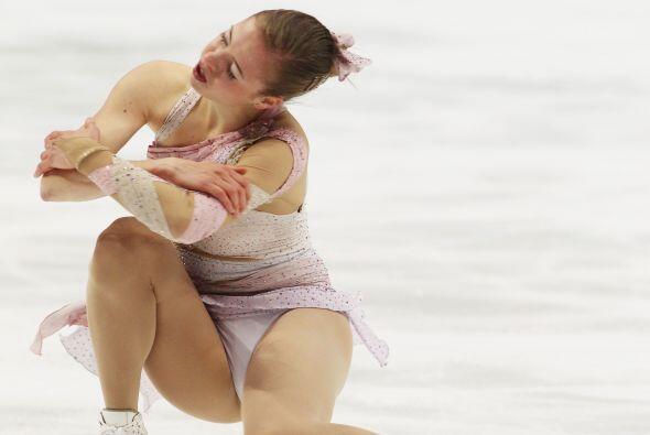 Italia se llevó el bronce con la patinadora Carolina Kostner, qui...