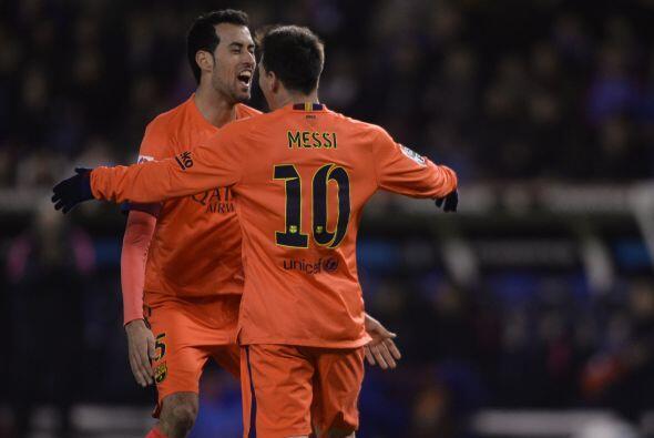 El Barcelona logró una goleada como visitante teniendo como estrella al...
