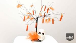 Hablobajito: Árbol para decorar con dulces en Halloween