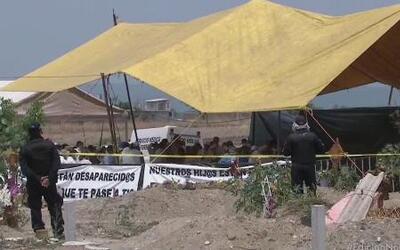 Polémicas exhumaciones en Morelos