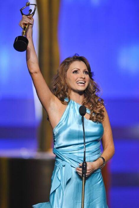 """La vimos ganar un Premio TVyNovelas por """"Mejor actriz"""" cuando la  """"Gavio..."""