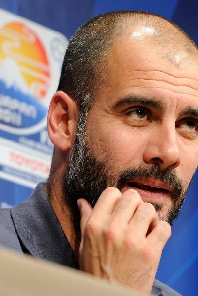 Guardiola también habló en la conferencia de prensa.