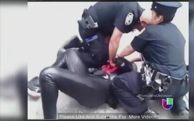 'Spiderman' cambió de bando y se enfrentó a la policía de Nueva York