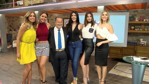 La gozadera, Raúl estuvo rodeado de reinas detrás de cámaras