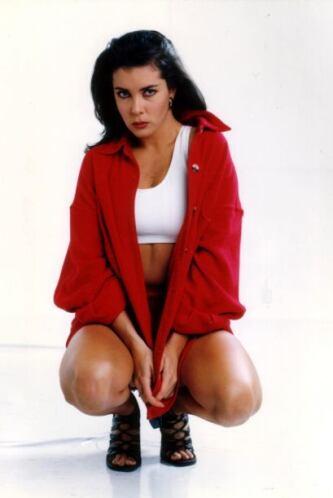 La actriz tenía poco de haber debutado en la televisión.