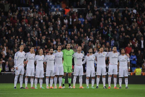 El Real Madrid recibía al Celta de Vigo, pero antes del partido se guard...