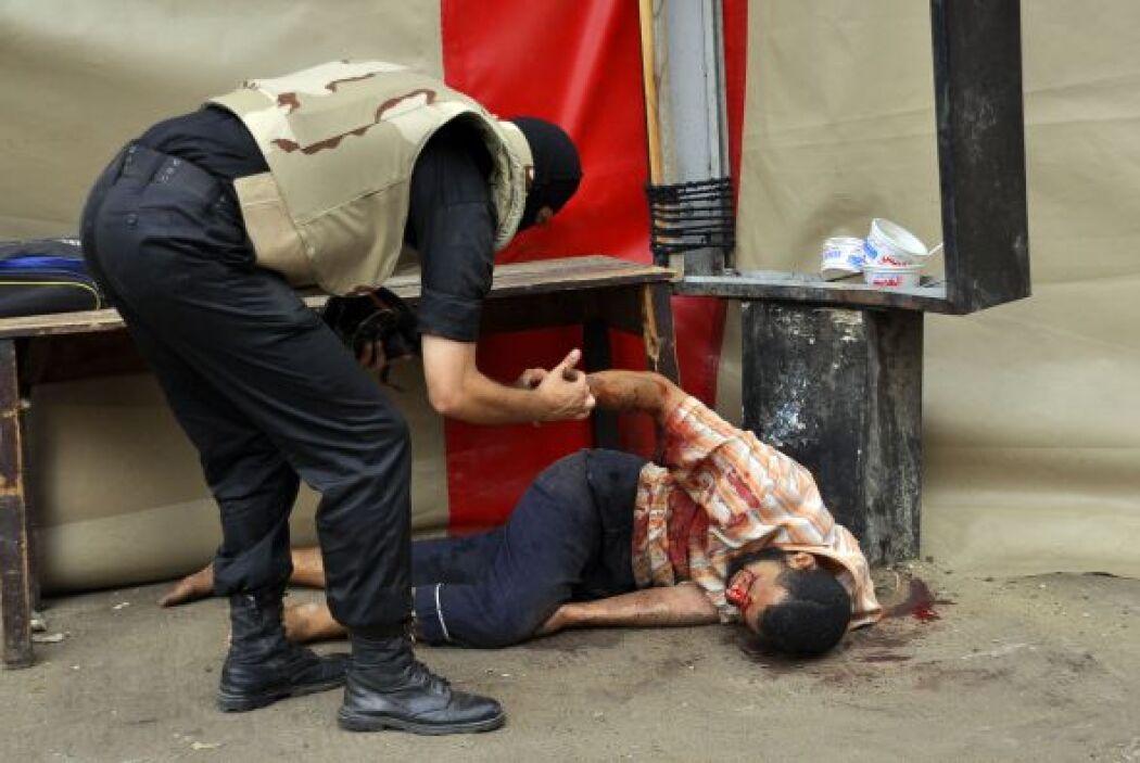 También ha habido muertos y heridos en las provincias de Beheira y Daqah...
