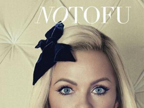Para la portada de la revista NOTOFU, Pamela Anderson nos mostró...