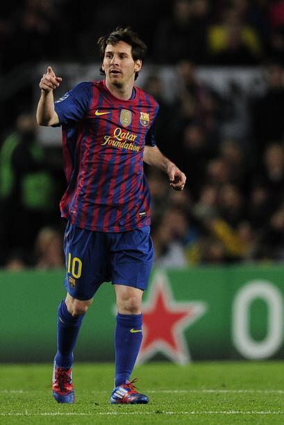 El genial Messi, después de unos días de fiesta obligada -estaba sancion...