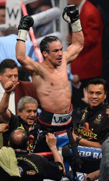 Juan manuel Márquez también se sentía ganador.