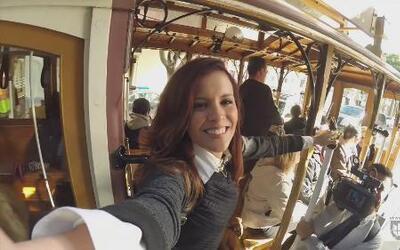 Adriana y la aventura de los teleféricos en San Francisco