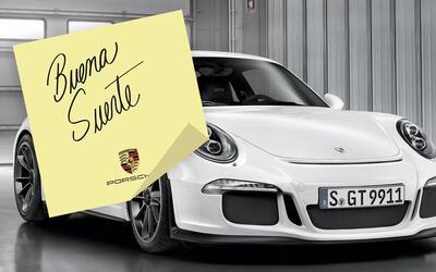 Porsche le manda un mensaje a Honda abordo de un 911 GT3