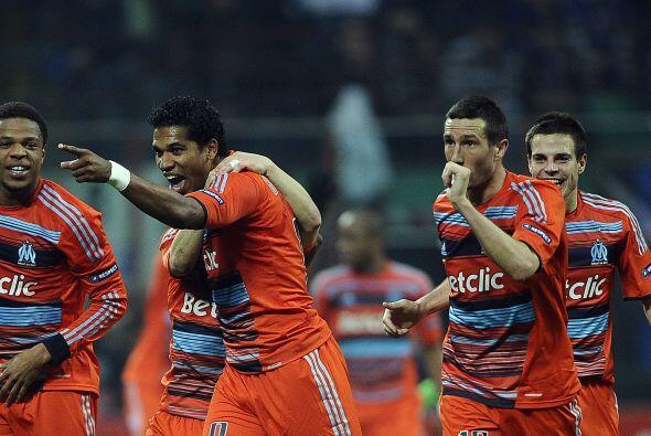 El Benfica, que ha hecho una gran temporada en la 'Champions', y el Olym...