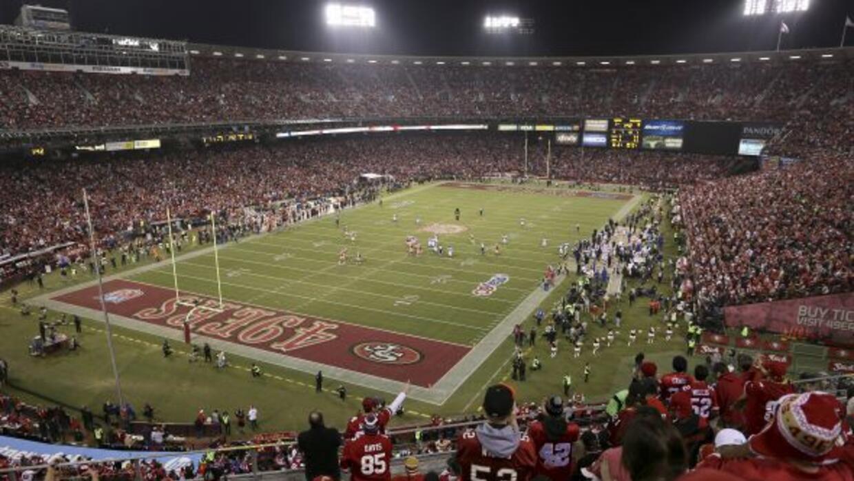 La casa de los 49ers desde 1971 (AP-NFL).