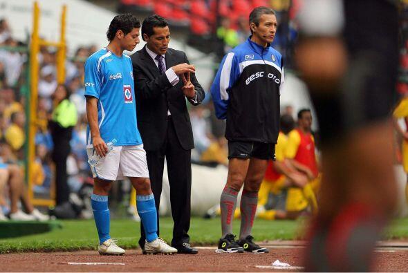 Apertura 2008  Benjamín Galindo era el nuevo timonel cementero y...