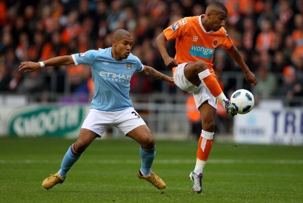 Por su parte, el Manchester City visitó el campo del Blackpool sa...