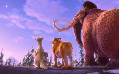 ¿Fuegos artificiales y destellos en 'Ice Age: Collision Course'?