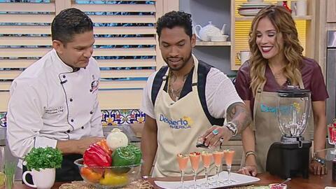 Miguel y Karla cocinaron un sinfín de Antojitos Cubanos para todos en el...