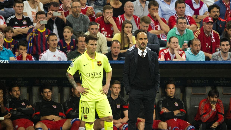 Messi y Guardiola son el sueño de los Citizens