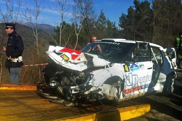 Robert Kubica de la escudería Lotus-Renault, fue operado tras sufrir un...