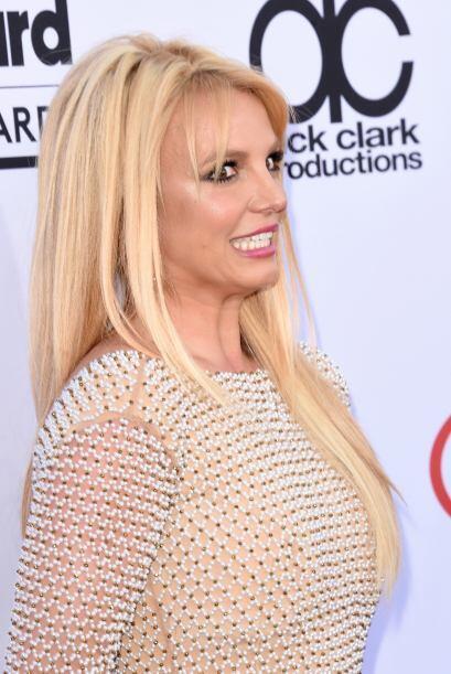 Britney fue otra de las espectaculares estrellas de esta premiación.